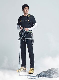 Go here for So Ji Sub's previously released Marmot S/S 2015 visuals.       Source  |  Marmot