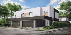 Projekt domu HomeKONCEPT-03 B   HomeKONCEPT Home Fashion, Pergola, Mansions, Architecture, House Styles, Home Decor, House, Arquitetura, Decoration Home