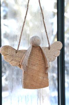 An angel on display...
