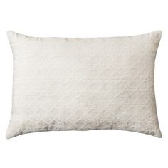 Cream Cane Chenille Oblong Toss Throw Pillow 20 X14 Threshold