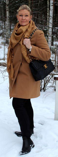 Chanel, Louis Vuitton Caramel