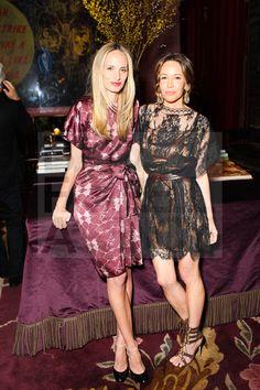 Lauren Santo Domingo & Samantha Boardman