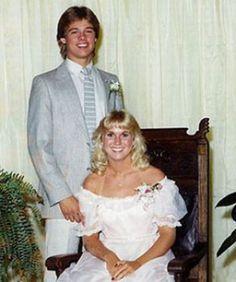 Brad Pitt's prom photo