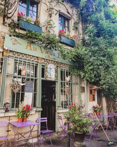 Flights To Paris, Cafe Exterior, Cherbourg, Plakat Design, Cute Cafe, French Cafe, Cafe Tables, Paris Photography, Oui Oui