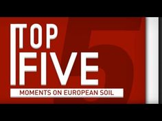 Top 5 UFC Moments on European Soil