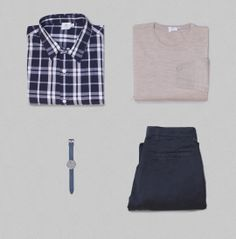 #Sunspelstyleedit : Layer up for uncertain weather with lightweight shirts and knits.