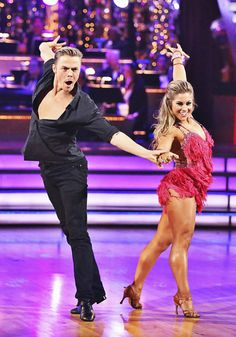 Shawn Johnson & Derek Hough - for motivation and inspiration this show inspires me.