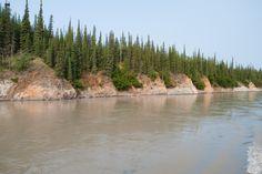 Klondike River Yukon Territory  copyrighted 2014 Dark Woods Studios, Ltd. Co. dwoodstudio.com