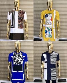 African Shirts For Men, African Clothing For Men, Nigerian Men Fashion, African Print Fashion, Fashion Suits, Mens Fashion, Dashiki For Men, Native Wears, Designer Clothes For Men