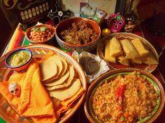 Comida Tradicional para el Día de los Muertos