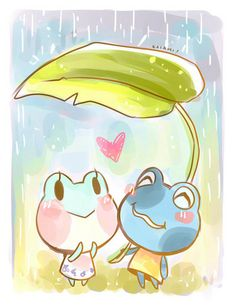 kaiaminalcrossing:  Jeremiah and Lily are so adorable gosh I think they'd make the cutest little frog couple