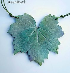 Heucera | Fresh from my garden:) Polymer clay pendant Explor… | Flickr