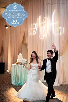 Reunion Resort's Wedding of the Year Contest Quarter 1 Winner Announced ... Anna & Houston's Wedding!   www.ReunionResort.com/WeddingBlog   #ReunionWOY #ReunionResort #Wedding #WeddingWednesday