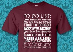 Fandom To Do List - T-Shirt