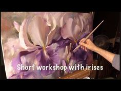 Oil Painting Techniques, Painting Videos, Painting Lessons, Art Lessons, Tulip Painting, Painting Flowers, Acrylic Painting Tutorials, Art Tutorials, Flower Art