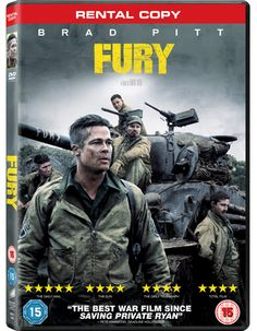 April, 1945. As the Allies make their final push in the European Theatre, a battle-hardened army sergeant named Wardaddy (Brad Pitt) commands a Sherman tank and her five-man crew on a deadly mission behind enemy lines.