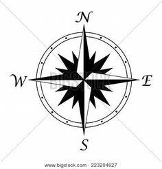 223204627 Compass Tattoo, Tattoos, Tatuajes, Tattoo, Tattos, Tattoo Designs