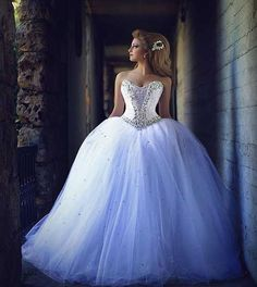 2015 Prenses Gelinlik Modeli