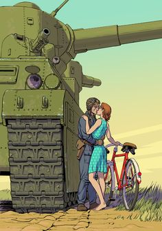 Dieselpunk illustration by Alexey Lipatov. See more at http://lipatov.deviantart.com/gallery/11646482