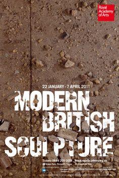 MODERN BRITISH SCULPTURE Poster