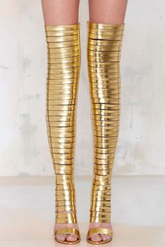 Jeffrey Campbell Blinded Thigh-High Heels