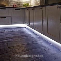 Flexible LED strip lighting for the kitchen from Hafele jhauto.en.alibaba…… http://www.housedesigns.top/2017/08/02/flexible-led-strip-lighting-for-the-kitchen-from-hafele-jhauto-en-alibaba/