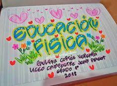 Resultado de imagen para marcar cuadernos educacion fisica Letters And Numbers, Doodles, Study, Valentines, Lettering, School, Mood, Colors, Ideas