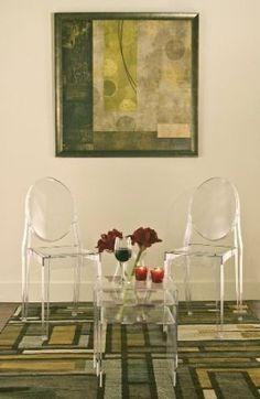 Amazon.com: Baxton Studio Acrylic Nesting Tables, Clear: Home & Kitchen