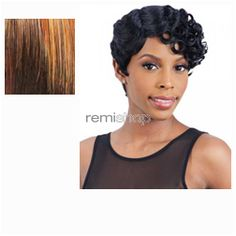 Equal (SNG) In Style Wig Emma  - Color OM30 - Synthetic (Curling Iron Safe) Regular Wig
