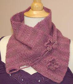Ivy Brambles Woven Knit Stitch Cowl Pattern