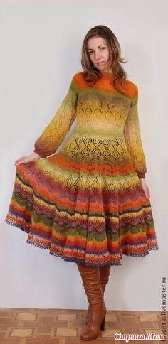 Дундажное платье - Каунимания - Страна Мам