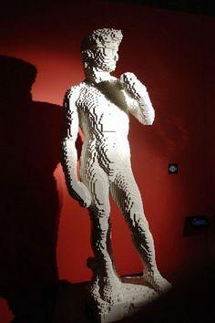 Nathan Sawaya, The Art of the LEGO ® bricks, Sculpture - Paris Expo, Paris, France