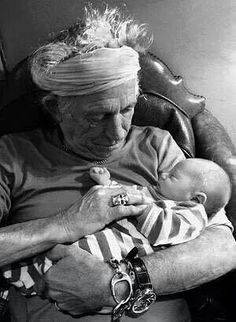 Grandfather Keith Richards
