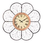 Scalloped Metal Clock | Kirkland's