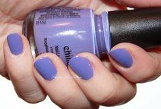China Glaze What a Pansy Nailpolish  #nails #bluenails #bluepolish - bellashoot.com