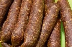 Bratwurst, Allrecipes, Sausage, Homemade, Food, Decor, Smoking Meat, Smoked Ham, Polish Sausage Recipes