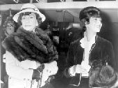 Coco Chanel with friend and favourite model Marie Helene Arnaud Undated / Y2001 Credit:Topham Picturepoint