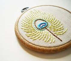 embroidered peacock feather images - Google-Suche