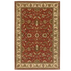 Toulouse Red 2 ft. x 3 ft. Area Rug