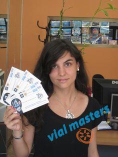 Tamara. Ganadora de 4 entradas para el preestreno de Del Revés-Inside Out, en el evento que organizaron las Autoescuelas Vial Masters. ¡Enhorabuena!
