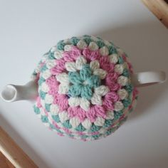 @ Another Sunday Girl: Crochet Tea Cosy - with basic instructions on how to make your own pretty cosy :-)