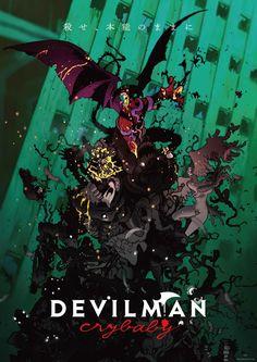 """[#Anime] """"DEVILMAN CRY BABY"""" #Netflix lanza el primer tráiler de el nuevo anime basado en la franquicia Devilman, creada por del autor Gō Nagai en la revista Weekly Shōnen Magazine (Kodansha) en el año 1972. Se estrenará esta nueva serie de Netflix: El 5 de enero en todo el mundo y contará con 10 episodios. #NeerksTV"""