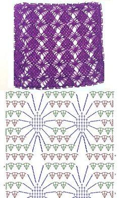 Crochet boucles d& bijoux perles super idées # hochzeitskleiderhäkeln Crochet . - Crochet boucles d& bijoux perles super idées # hochzeitskleiderhäkeln Crochet bou - Crochet Scarf Diagram, Crochet Shawl Free, Crochet Motifs, Lace Knitting, Easy Crochet, Crochet Baby, Crochet Patterns, Tunisian Crochet, Scarf Patterns