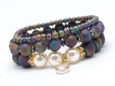 Wristbands & Bracelets – Set bracelets AGDR8 – a unique product by Blackif on DaWanda