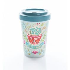 ecoffee cup to go becher bambus william morris poppy bambus togo ecoffee william morris. Black Bedroom Furniture Sets. Home Design Ideas