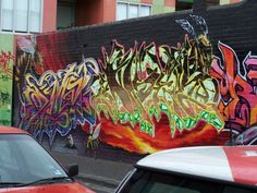 Melbourne Graffiti by unknown artist