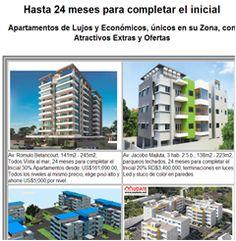 Hasta 24 meses para completar el inicial Apartamentos de Lujos y Económicos, únicos en su Zona, con Atractivos Extras y Ofertas