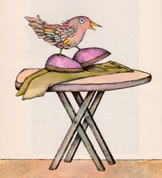 The Ice-Cream Cone Coot and Other Rare Birds by my vintage book collection (in blog form), via Flickr