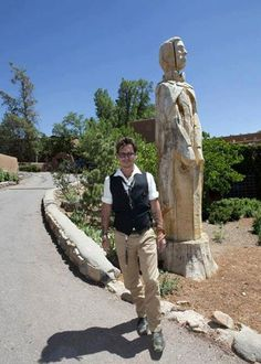 Johnny Depp visited Bishop's Lodge, will you be next? You Are Next, New Mexico Homes, Santa Fe Style, New Mexican, Clear Blue Sky, Land Of Enchantment, Lone Ranger, Man Alive, Good Looking Men