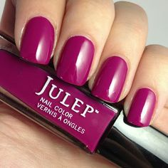 Julep Nellie - Swatched on lid + 4 fingers - $4